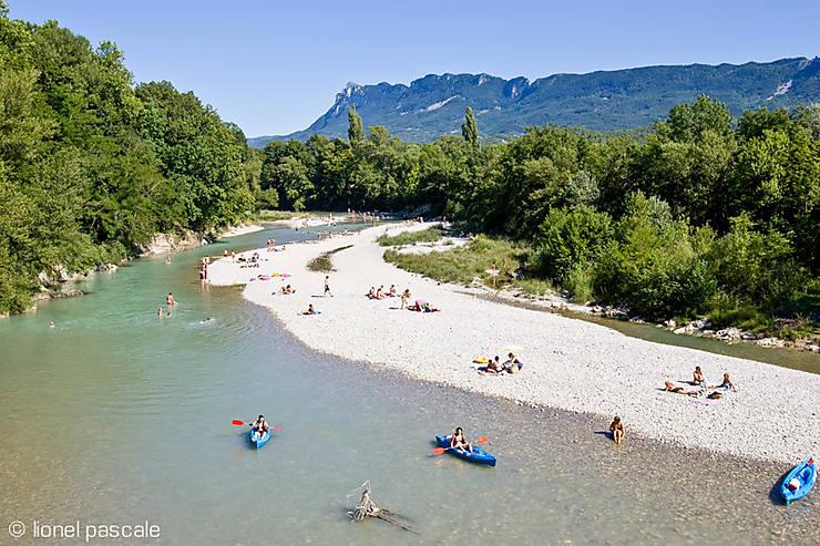 Vallée de la Drôme, soleil et dolce vita