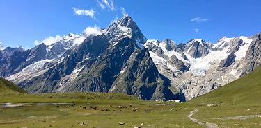 Grand trek : Le tour des Géants