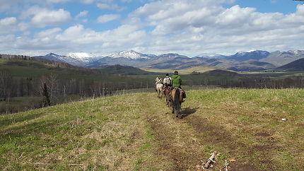 Poperechnoye, West-Altaï, Kazakhstan