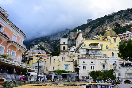Front de mer à Positano