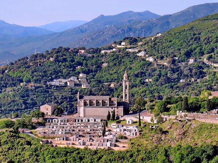 Village de Pietrabugno, Corse
