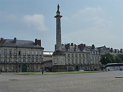 La place Maréchal Foch