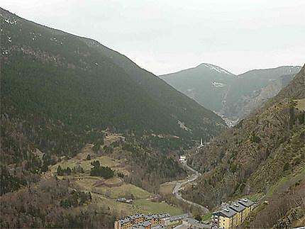 En direction de Andorre-la-vieille