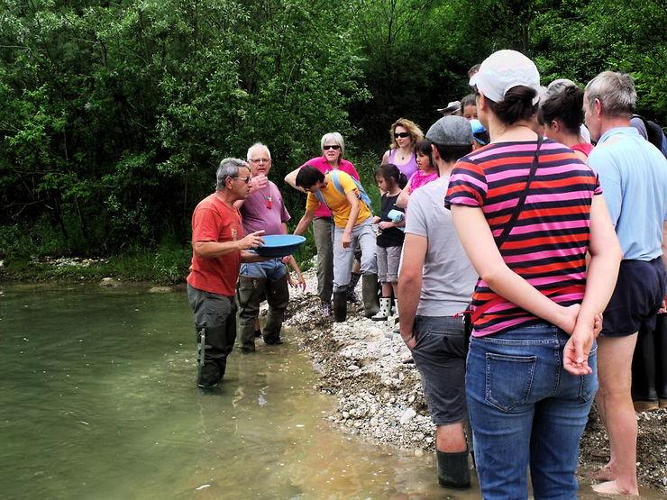 Dans l'Albanais, on devient chercheur d'or !