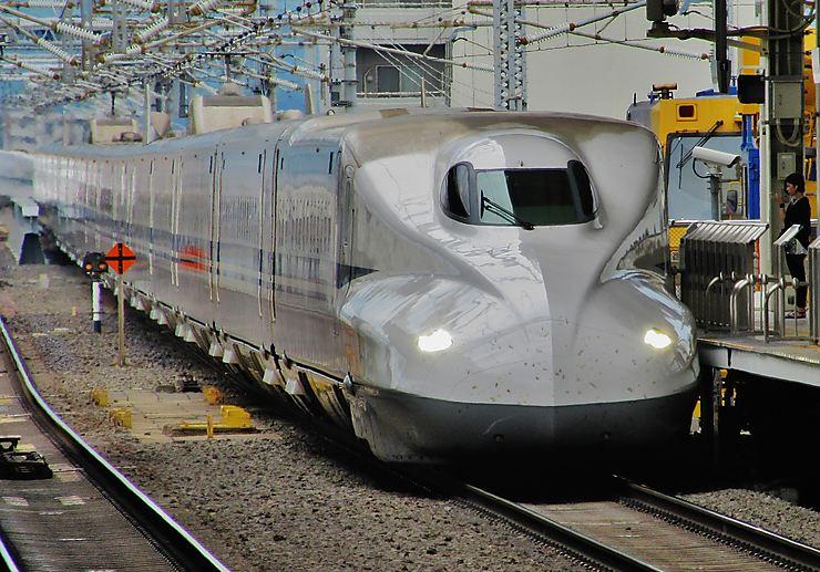 Shinkansen Nozomi, Japon