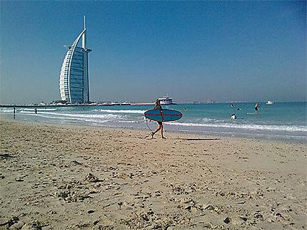 Du Surf à Dubaï