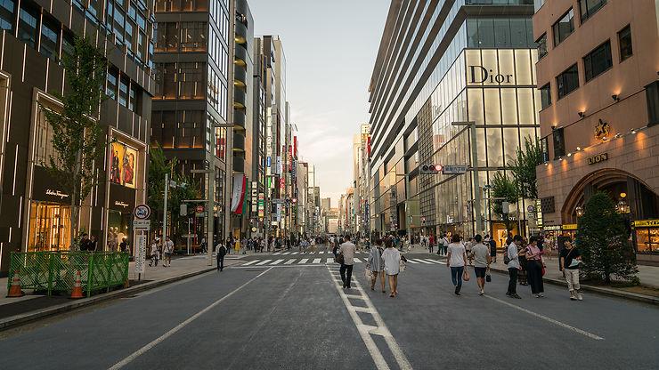 Ginza et Roppongi Hills : la mode de Tokyo et son écrin