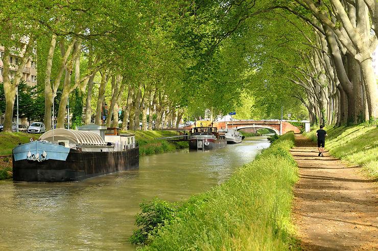 Le canal du Midi (Haute-Garonne, Aude, Hérault)