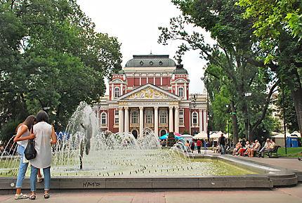 City park in the centre of Sofia