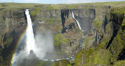 Les cascades, âme de l'Islande