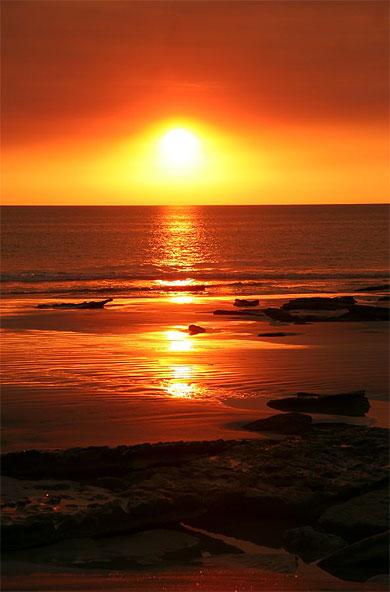 sunset cable beach coucher de soleil broome kimberley western australia australie. Black Bedroom Furniture Sets. Home Design Ideas