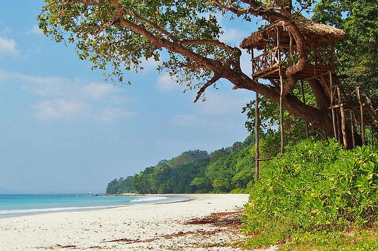 Plages de Havelock, îles Andaman, Inde