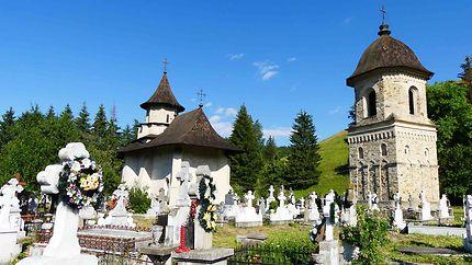 Eglise accolée au monastère de Sucevita