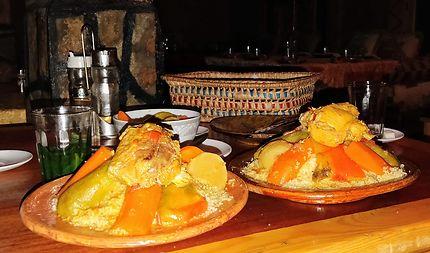 Couscous berbère à Tineghir