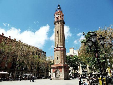 Tour de l'horloge ( campanile de Gràcia )