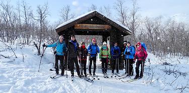 Ski en Laponie suédoise : la piste Royale