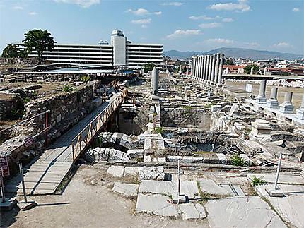 Izmir ruines