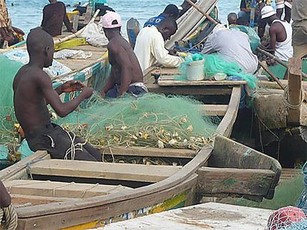 Activité de pêcheurs