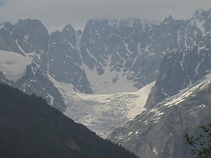 Glacier de Tchalati en Svanétie