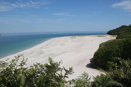 Groix plage des grands sables