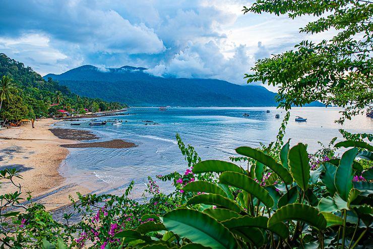ABC beach, Île de Tioman, Malaisie
