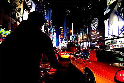 Tuk Tuk dans Times Square