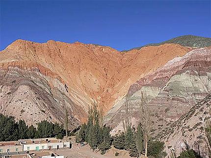 Salta -  Montagne à plusieurs couleurs