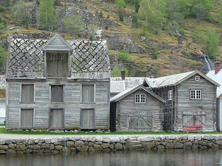 Nærøyfjord, l'homme et la nature