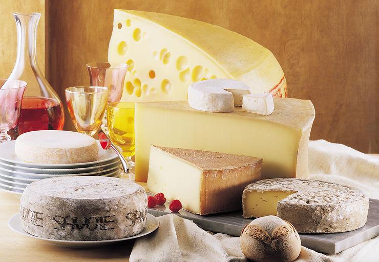 Les Itineraires Des Fromages De Savoie