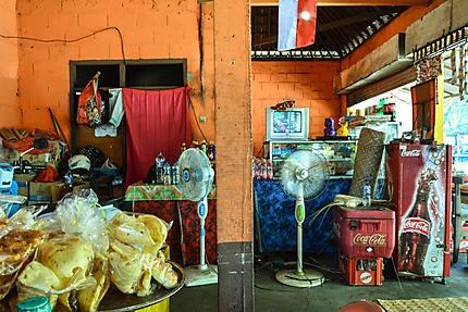 Échoppe de street food, Semarapura