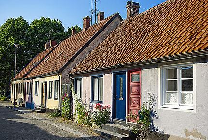 Des maisons à Simrishamn