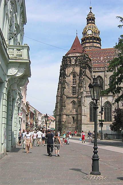 Kosice centre ville