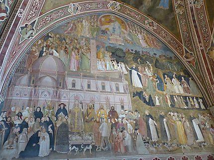 Couvent Santa Maria Novella - Fresques