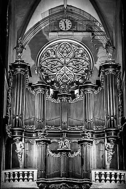 Bordeaux - L'orgue de la Basilique St Michel