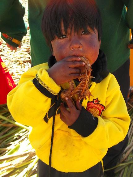 Enfant bolivien