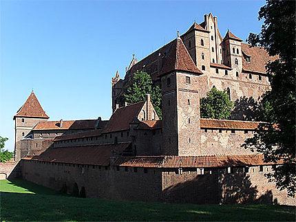 Aperçu général de la forteresse