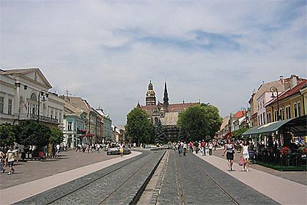 Kosice - hlavna ulica