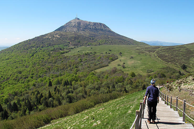 Le Grand Clermont et les volcans d'Auvergne avec le Routard