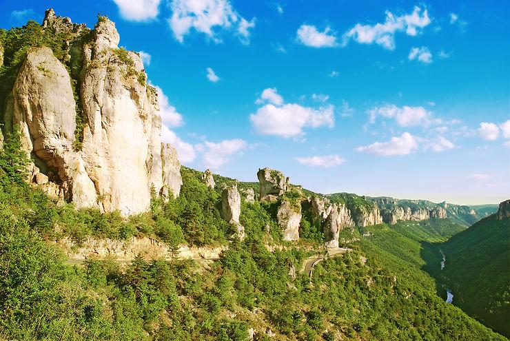 Les gorges du Tarn (Lozère, Aveyron)