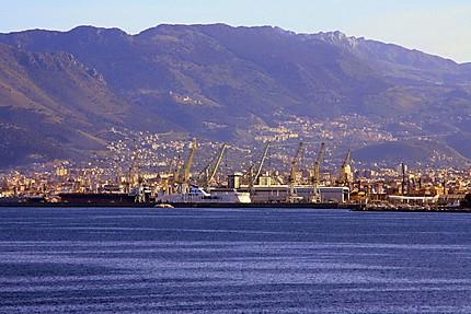 Arrivée au port de Palerme