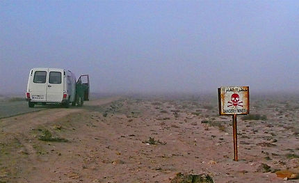 Et en plus le brouillard tombe au Maroc