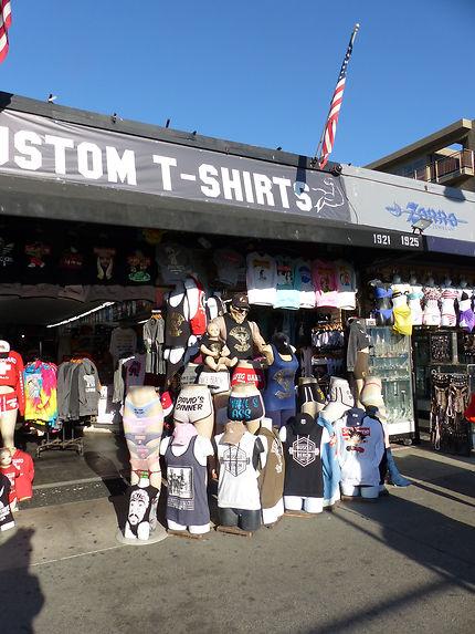 Boutiques Souvenirs à Venice Beach