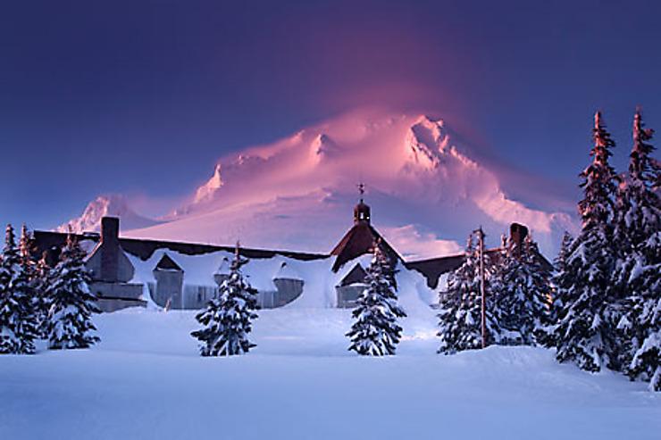 Mount Hood : sur les traces de Shining
