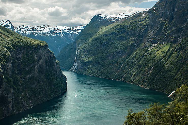 Geiranger et les 7 sœurs, Norvège