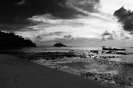 Coucher de soleil sur l'île Tioman
