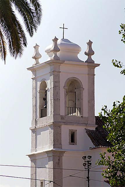 Lisbonne - Alfama - Clocher de l'église de Santa Luzia
