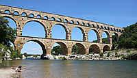 Autour du Pont du Gard