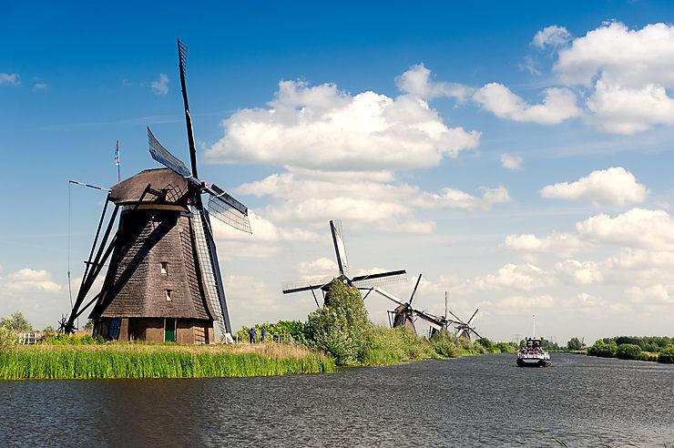 Les Pays-Bas, au fil de l'eau
