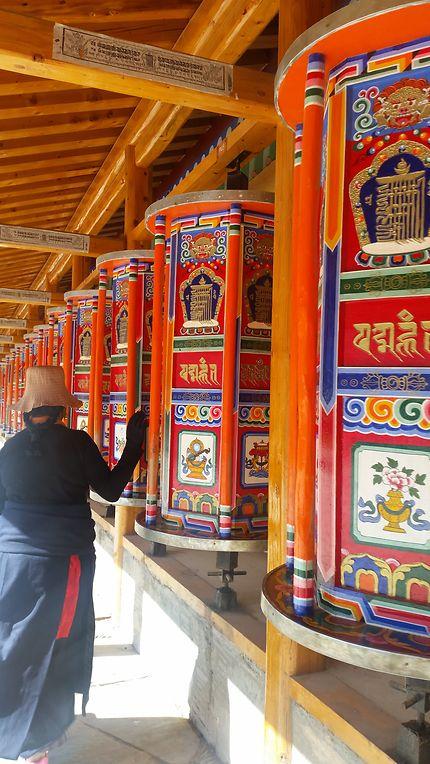 Xiahe : monastère de Labrang