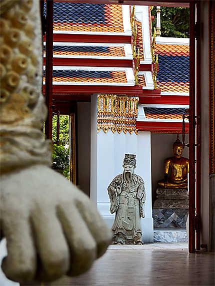 Une perspective à Wat Pho